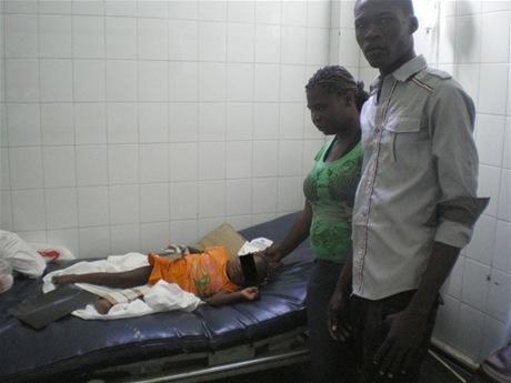 Le nego asistencia medica por ser haitianos