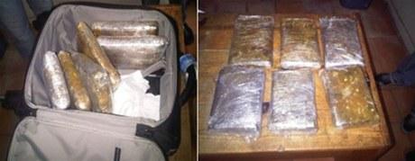 Dejan abandonada maleta llena de cocaína en Aeropuerto Punta Cana