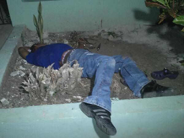Otra Banda : Hombre mata a balazos a su yerno cuando éste atacaba a puñaladas a su hija