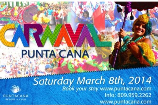 """Punta Cana: Ya viene el Carnaval """"Próximo 8 de marzo"""""""