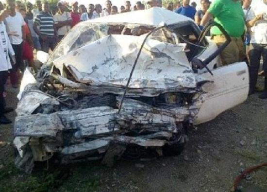 Higüey-La Ceiba: Accidente deja dos muertos este viernes santo.