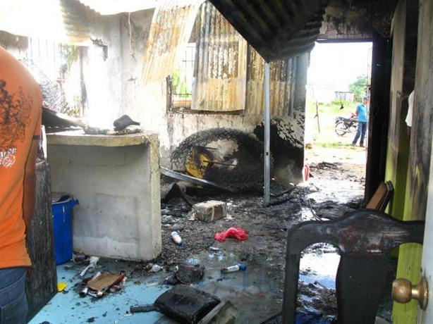 Villa Cerro: Niño de seis años muere al incendiarse su vivienda