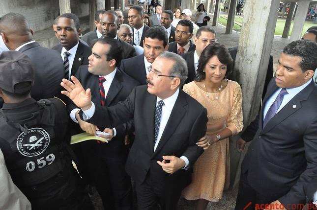 Danilo Medina  llamo a no matar la gallina de los huevos de oro.