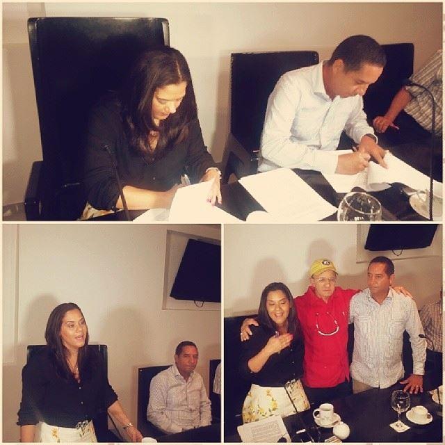 Cabildos firman acuerdo de mancomunidad.