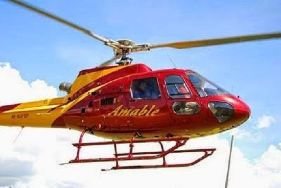 Donarán para el 911 helicóptero usaba Amable en campaña.