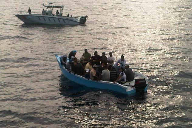 Apresan 73 personas se dirigían en yola hacia Puerto Rico.