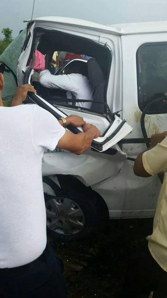 Accidente en autopista el coral deja una persona muerta.