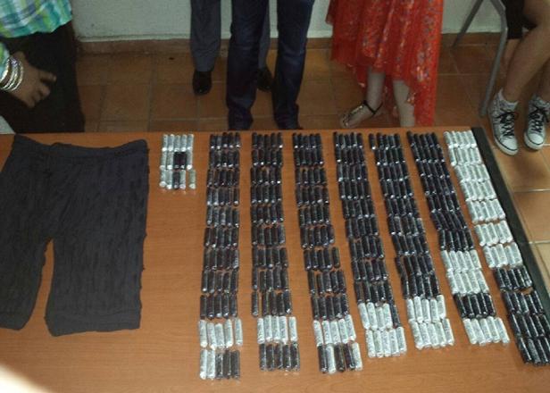 Punta Cana: Detienen  en el aeropuerto a una holandesa con 109 bolsas de drogas.
