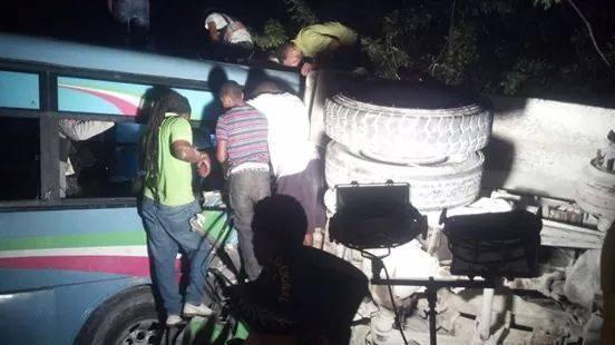 Higüey-Verón: 8 muertos y más de 30 heridos en accidente.