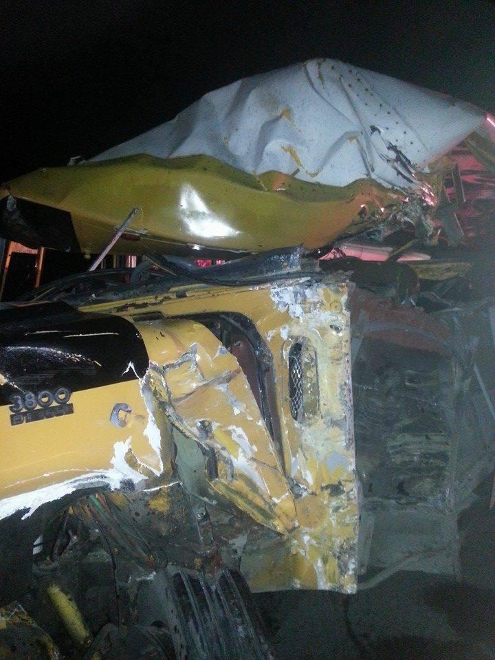 Cruz del Isleño – Macao: Accidente deja una persona muerta y once heridos.