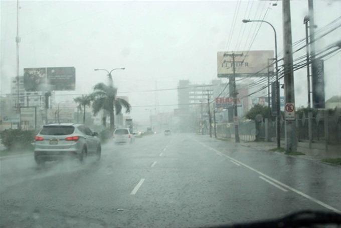 Viento del este provocará chubascos dispersos sobre  varias provincias del país incluyendo Higüey.