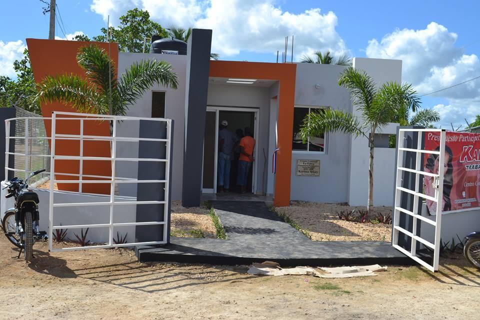 La enea: Ayuntamiento de Higüey hace entrega de un centro comunal.