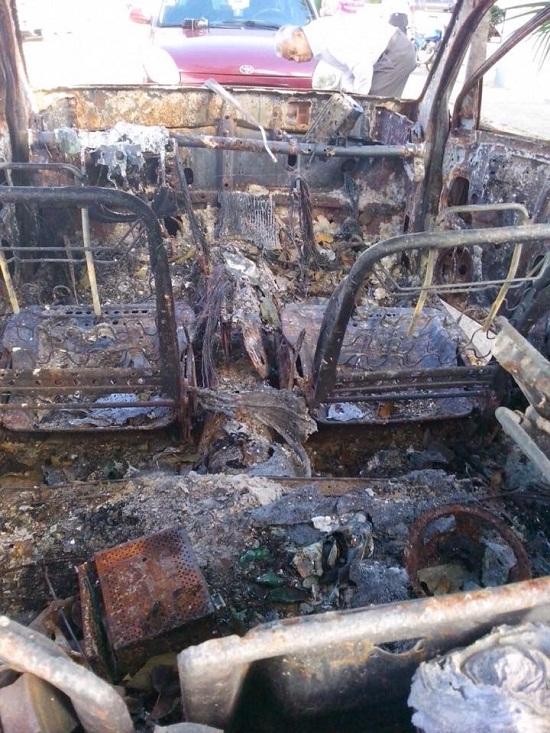 Bávaro: Fallece ciudadano francés al incendiarse el vehículo en que viajaba tras un acidente.