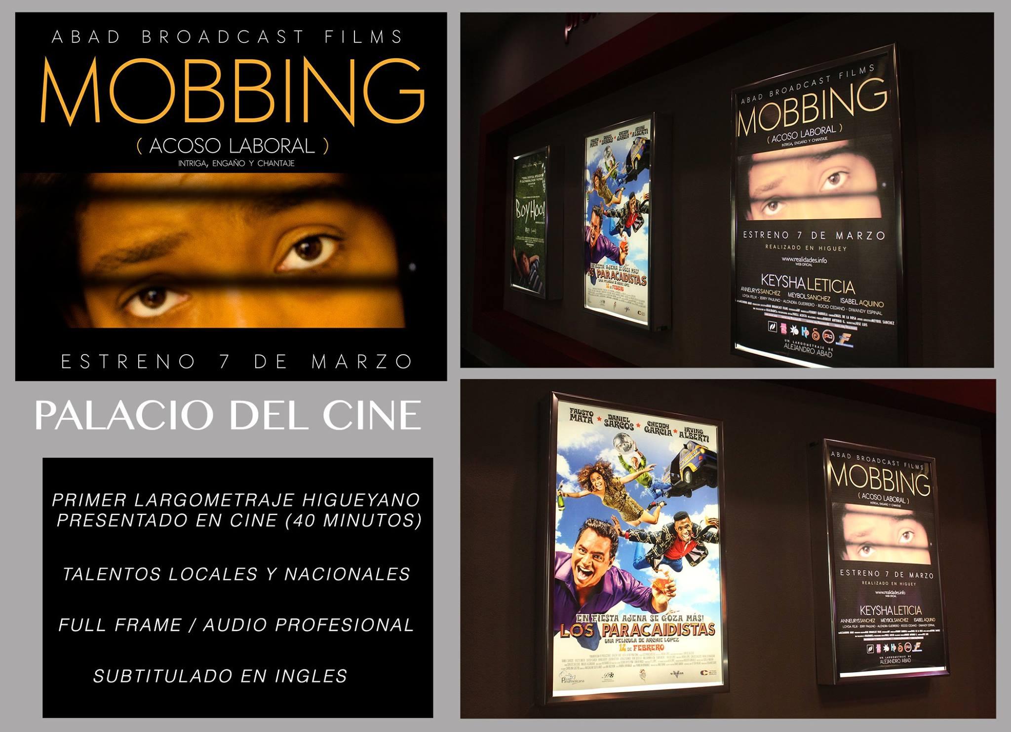 Trailer Oficial - MOBBING (Acoso Laboral) Primer largometraje higüeyano.