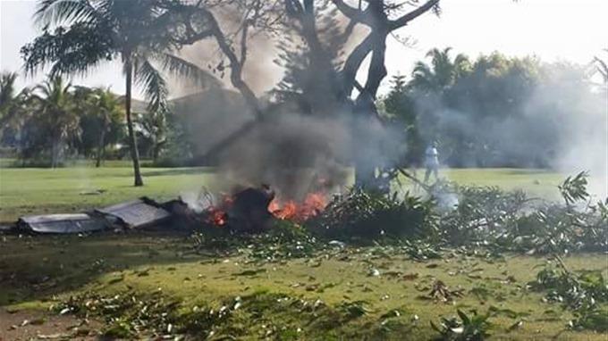 Punta Cana: Confirman la muerte de las siete personas que iban en la avioneta estrellada.