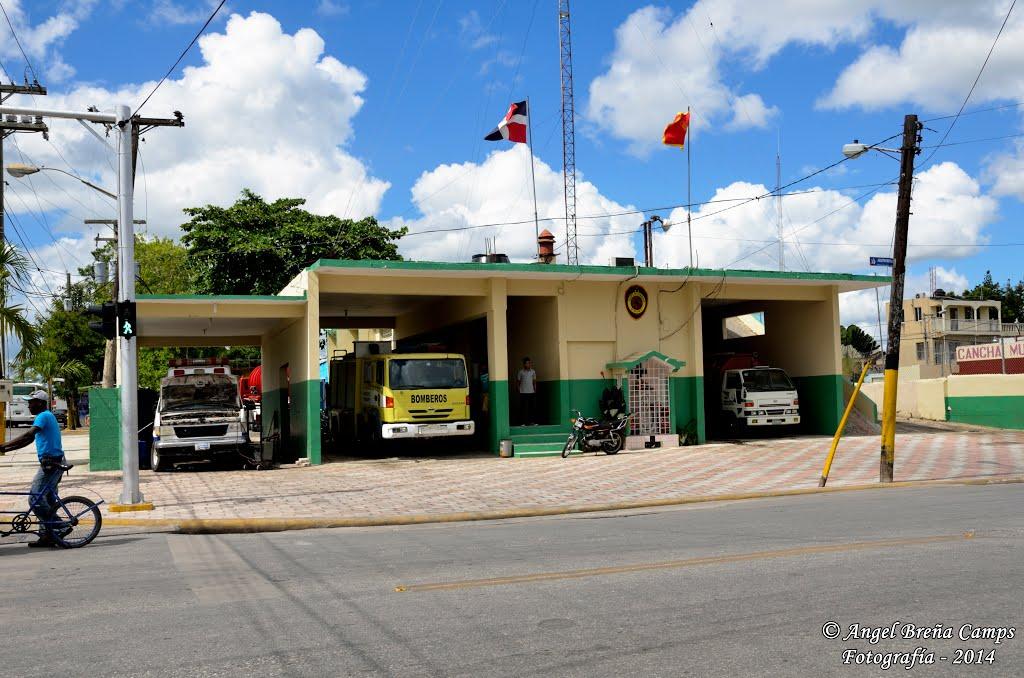Bomberos de la ciudad de higuey se encuentran en estado de emergencia.