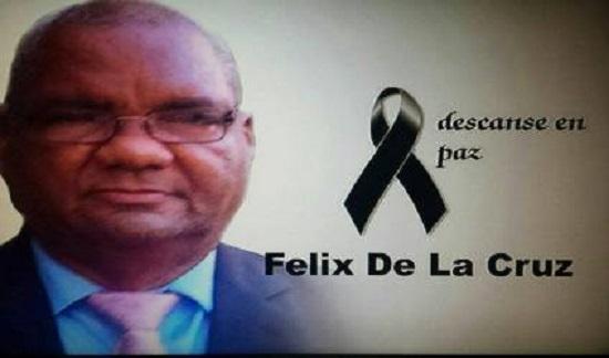 Falleció este miércoles en el Hospital Dr. Ramón Lara el Sr Felix de la Cruz.