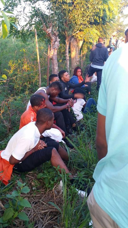 Accidente esta mañana deja un saldo de diez personas muertas y más de 30 heridos.