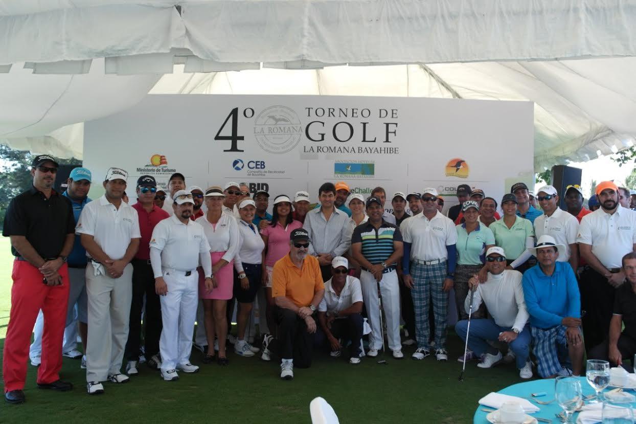 Concluye con éxito cuarto Torneo de Golf la Romana-Bayahibe.