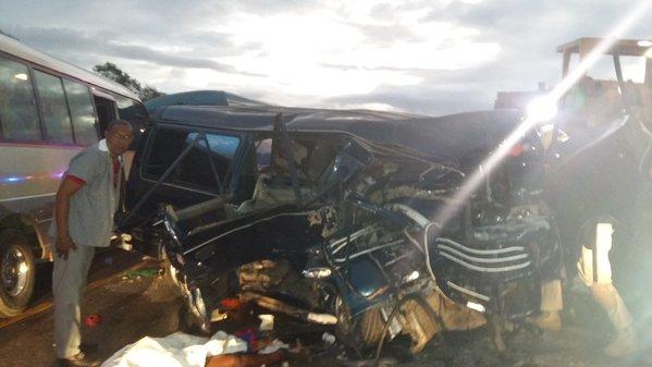 Accidente en carretera de Cumayasa deja varios muertos y heridos que venían hacia Higuey.