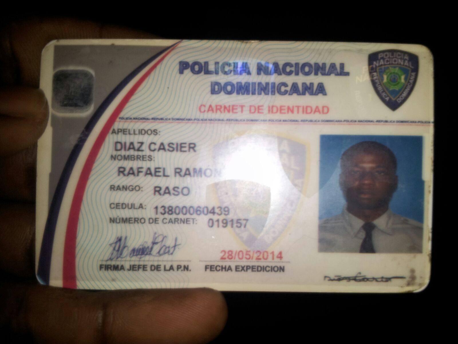 Matan de seis balazos agente de la Policía que hacía servicio en Hospital de Higüey.