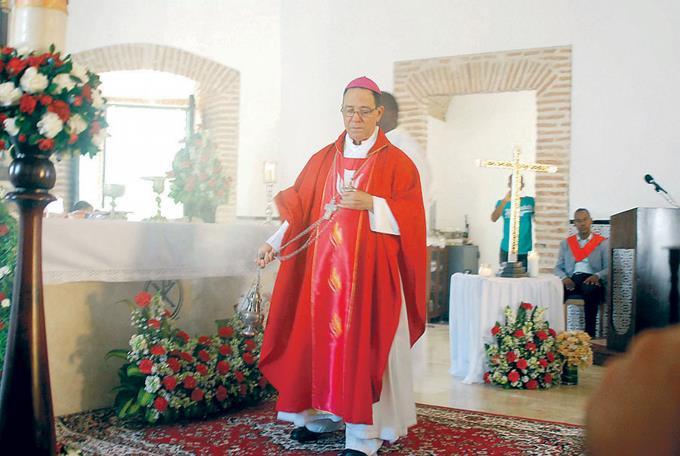 Nicanor Peña Rodríguez, lamentó las acciones de prostitución en los alrededores de la basílica Nuestra Señora de la Altagracia.