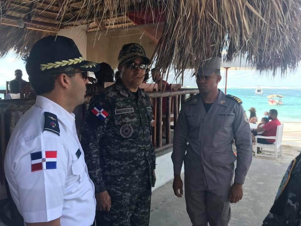 Bávaro, Punta Cana  Director General de la PN continúa recorrido de supervisión. (Imagenes)