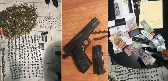 Policía confisca droga y almas en un colmado de San Martin, Propiedad de un Deportado.