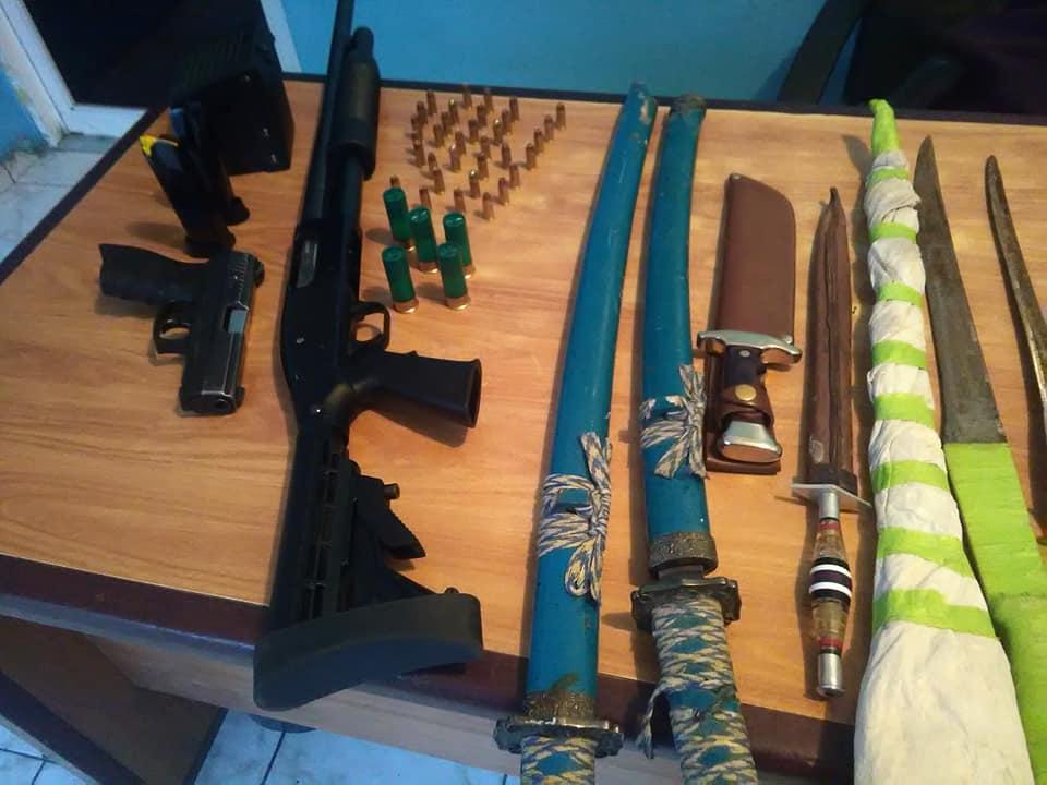 Capturan Joven con arsenal de arma de fuego en Higuey.