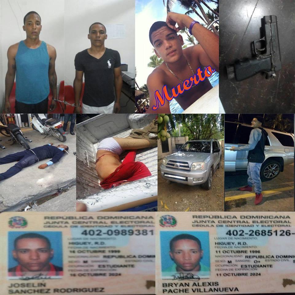 Jóvenes que asesinaron al seguridad en el seibo tambien son Higueyanos.