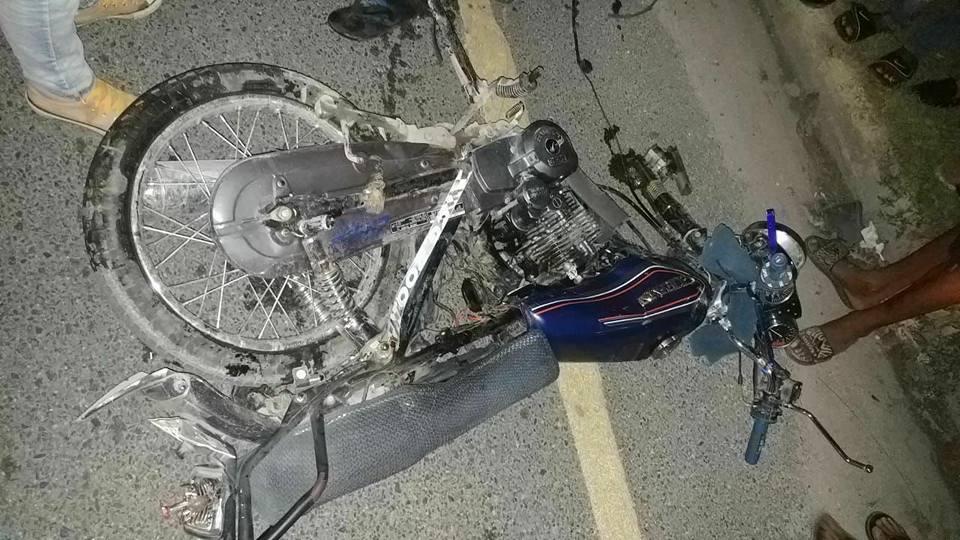 [Ayer] Tres personas pierden la vida en accidente de tránsito en la Altagracia.