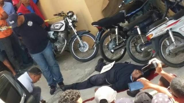 Muere Joven Higueyano en medio de atraco en la ciudad de el Seibo.