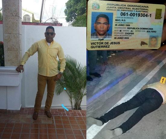 Hombre cae abatido a manos de delincuente frente a la ferretería la imagen.
