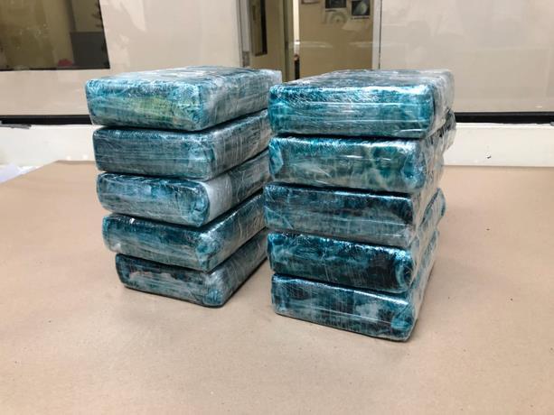 [Punta Cana] DNCD Ocupan 10 paquete de cocaina en el aeropuerto.