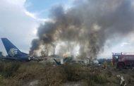 Detalles del accidente aéreo en Mexico en el aeropuerto de Durango.