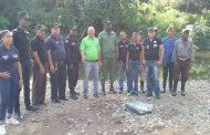 Academia Dominicana de Bomberos ACADOBOM realiza operativo de Limpieza en el Rio Sanate.