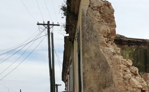 Villa Cerro - Empleada doméstica muere al caerle pared encima.