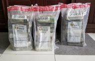 Punta Cana - Ocupan seis paquetes de cocaína a extranjero en aeropuerto.