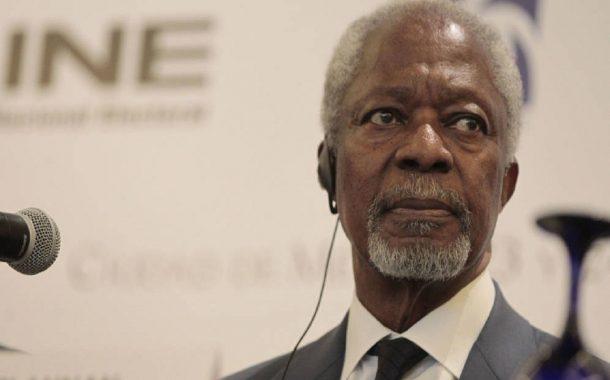 Muere a los 80 años Kofi Annan, ex secretario general de la ONU.