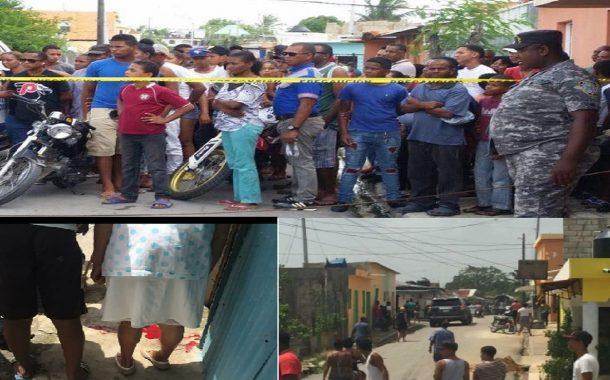 Mamá Tingó - muere niño de 7 años y hermana de tres herida en tiroteo entre bandas rivales.