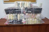 Ocupan 91 kilos de cocaína en área de carga del AILA.
