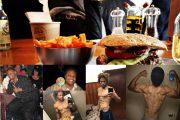 Adelgazar devorando hamburguesas: Pierde 88 kilos sin dejar de comer comida chatarra.