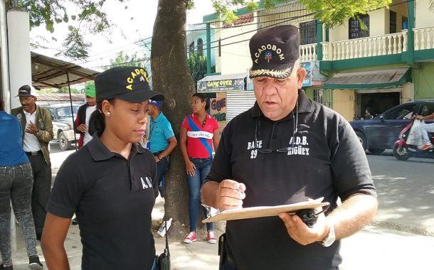 ACADOBOM  base 29 de Higüey participa en Operativo de Prevención.