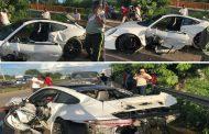 Sobrino del empresario Frank Rainieri sufre aparatoso accidente en Autovía del Este.