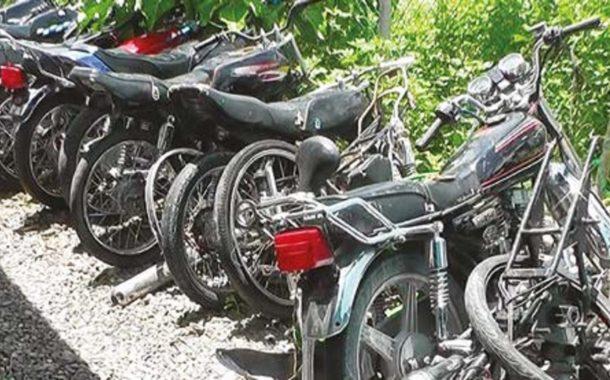 PN desmantela red de haitianos que se dedicaban a robar motocicletas para enviarlas para Haití.