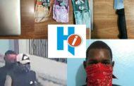 Detienen joven por asalto a periodista en Higüey.
